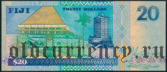 Фиджи, 20 долларов (2002) года
