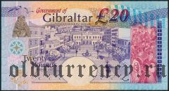 Гибралтар, 20 фунтов 2004 года
