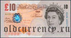 Великобритания, 10 фунтов 2000 года