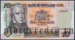 Шотландия, 10 фунтов 1998 года
