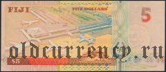 Фиджи, 5 долларов (1998) года