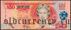 Фиджи, 50 долларов (2002) года