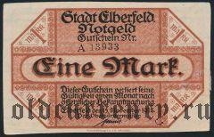 Эльберфельд (Elberfeld), 1 марка 1918 года