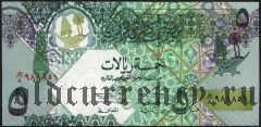 Катар, 5 риалов (2003) года