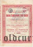 Бумажные мануфактуры И. К. Познанского в Лодзи, 1000 рублей 1910 года
