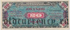 Германия, 20 марок 1944 года