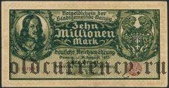 Данциг, 10.000.000 марок 1923 года