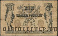 Германия, 1 талер 1861 года