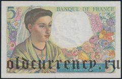 Франция, 5 франков 25.11.1943 года