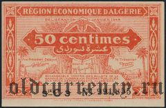 Алжир, 50 сантимов 1944 года