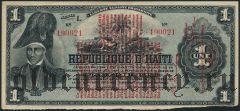 Гаити, 1 гурд 1916 года