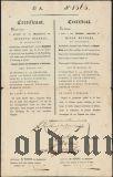 Русский заем в Нидерландах (De Lanoy & Burlage), сертификат, 1000 рублей 1824 года