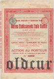 Русское общество бывших предприятий Хеблера, 100 франков 1903 года