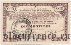 Франция, 10 сантимов 1915 года