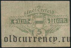 Крефельд (Crefeld), 500.000 марок 1923 года. Вар. 2