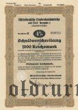 Mitteldeutsche Landesbankanleihe, Magdeburg, 100 рейхсмарок 1942