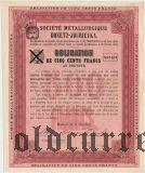 Донецко-Юрьевское металлургическое общество, 500 франков 1900 года