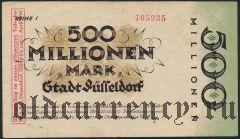 Дюссельдорф (Düsseldorf), 500.000.000 марок 1923 года