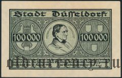 Дюссельдорф (Düsseldorf), 100.000 марок 1923 года