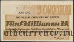 Эссен (Essen), 5.000.000 марок 19.08.1923 года