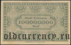 Золинген (Solingen), 100.000.000 марок 1923 года