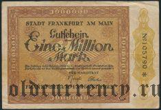Франкфурт-на-Майне (Frankfurt am Main), 1.000.000 марок 1923 года