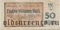Бюр (Buer), 50.000.000 марок 1923 года