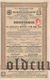 Общество Московско-Киево-Воронежской железной дороги, 500 марок 1909 года
