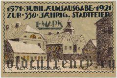 Ангербург (Angerburg), 1 марка 1921 года
