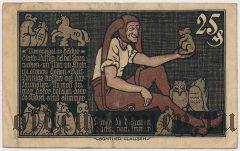 Брауншвейг (Braunschweig), 25 пфеннингов 1921 года. Вар. 1