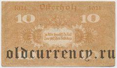 Остерхольц (Osterholz), 10 пфеннингов 1921 года