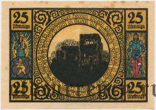 Лобеда (Lobeda), 25 пфеннингов 1921 года