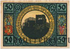 Лобеда (Lobeda), 50 пфеннингов 1921 года. Вар. 3