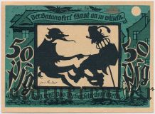Лихтенштайн-Калленберг (Lichtenstein-Callnberg), 50 пфеннингов 1921 года. Вар. 3