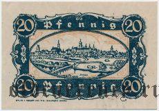 Диллинген (Dillingen), 20 пфеннингов 1920 года