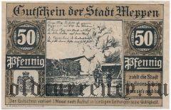 Меппен (Meppen), 50 пфеннингов 1921 года