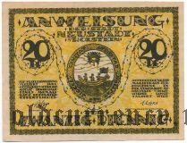 Нойштадт-ин-Хольштайн (Neustadt i. Holstein), 20 пфеннингов