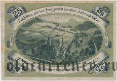 Пробсцелла (Probstzella), 25 пфеннингов 1921 года