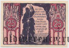 Боппард (Boppard), 25 пфеннингов 30.03.1921 года