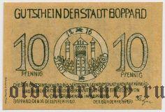 Боппард (Boppard), 10 пфеннингов 1920 года