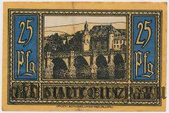 Кобленц (Coblenz), 25 пфеннингов 1921 года
