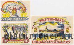 Бютцов (Bützow), 3 нотгельда 1922 года