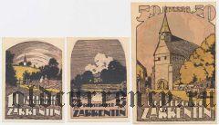 Царрентин (Zarrentin), 3 нотгельда 1922 года