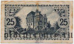 Альтенкирхен-Вальдбрёль (Altenkirchen-Waldbröl), 25 пфеннингов 1920 года