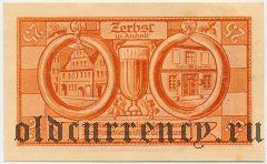 Цербст (Zerbst), 25 пфеннингов 1921 года