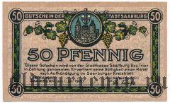 Саарбург (Saarburg), 50 пфеннингов 1920 года