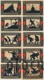 Детмольд (Detmold), 10 нотгельдов 1920 года