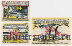 Хайлигендамм (Heiligendamm), 3 нотгельда 1922 года