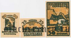 Гольдберг (Goldberg), 3 нотгельда 1922 года