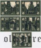 Мюнстер (Münster), 5 нотгельдов 1921 года. Вар. 2